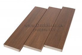 Composite and PVC decking boards